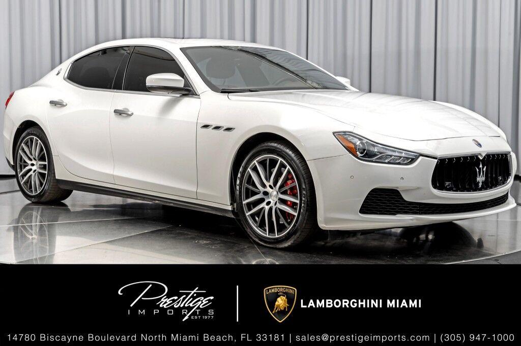 2017 Maserati Ghibli S North Miami Beach FL
