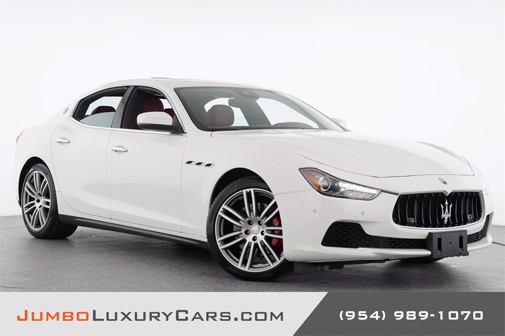 2017 Maserati Ghibli S Q4 Hollywood FL