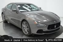 Maserati Ghibli S Q4 NAV,CAM,SUNROOF,HTD STS,PARK ASST,20IN WLS 2017