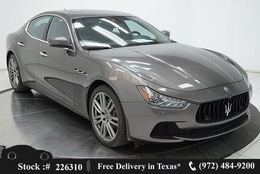 2017_Maserati_Ghibli_S Q4 NAV,CAM,SUNROOF,HTD STS,PARK ASST,20IN WLS_ Plano TX