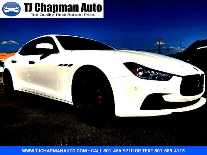 2017 Maserati Ghibli S Q4 Salt Lake City UT