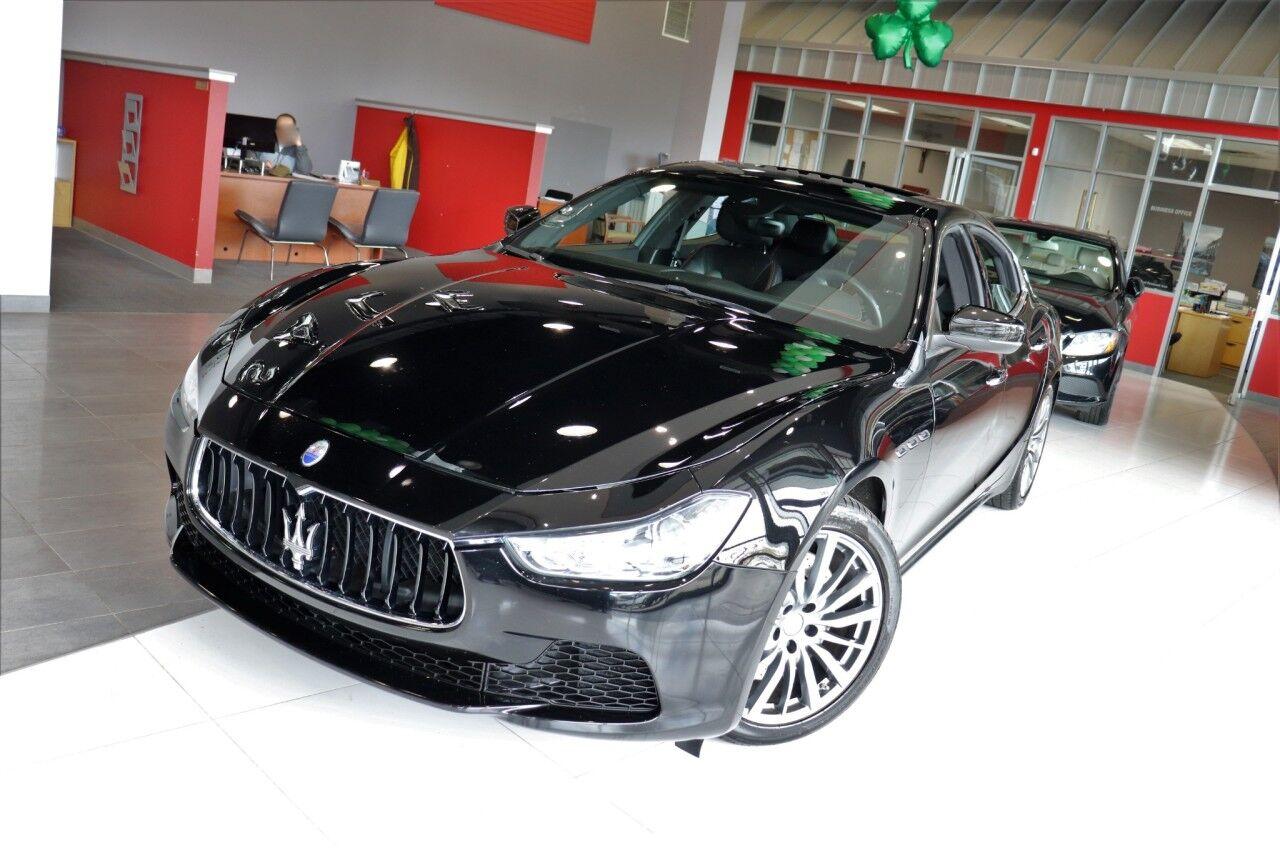 2017 Maserati Ghibli S Q4 Sunroof Navigation 1 Owner Springfield NJ
