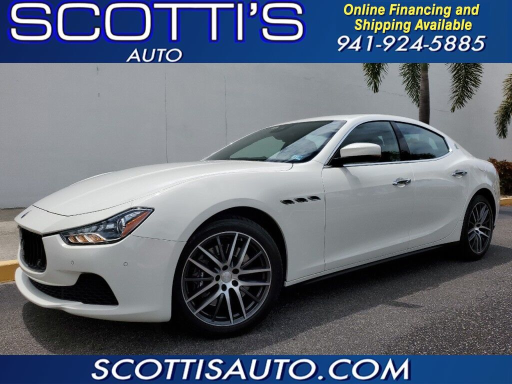 2017 Maserati Ghibli S Q4~ V6 TWIN TURBO~ 1-OWNER~ CLEAN CARFAX~ AWESOME COLOR COMBO~ ONLINE FINANCE AND SHIPPING! APPLY TODAY @ WWW.SCOTTISAUTOSALES.COM Sarasota FL