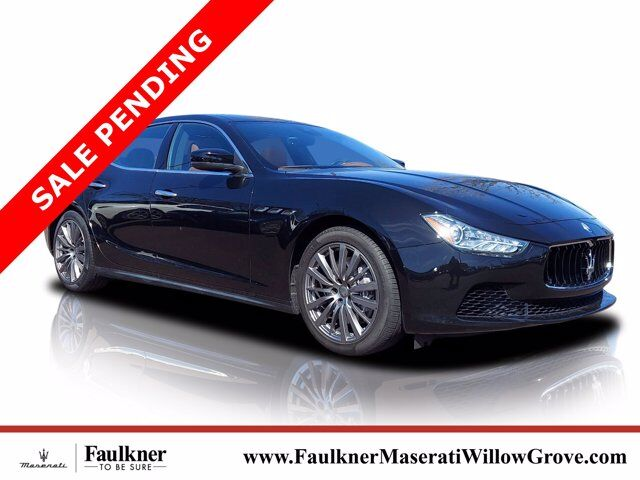 2017 Maserati Ghibli S Q4 Willow Grove PA