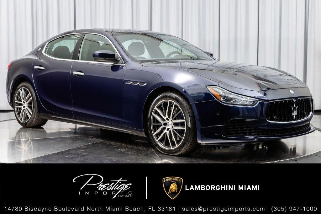 2017 Maserati Ghibli SQ4 North Miami Beach FL