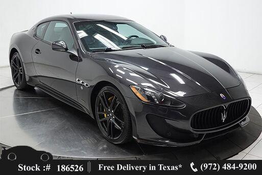 2017_Maserati_GranTurismo_Sport NAV,HTD STS,PARK ASST,20IN WHLS_ Plano TX