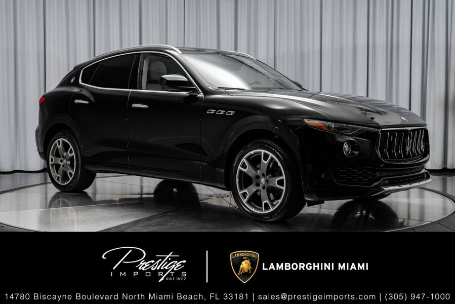 2017_Maserati_Levante__ North Miami FL