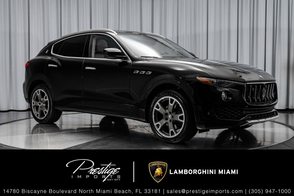 2017 Maserati Levante North Miami Beach FL