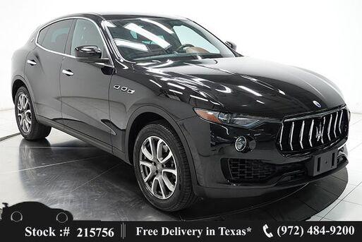 2017_Maserati_Levante_NAV,CAM,HTD STS,PARK ASST,19IN WHLS_ Plano TX