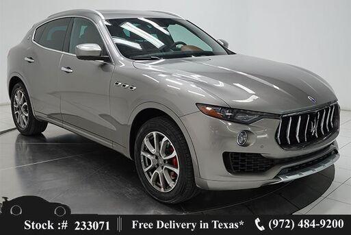 2017_Maserati_Levante_NAV,CAM,PANO,CLMT STS,BLIND SPOT,20IN WLS_ Plano TX