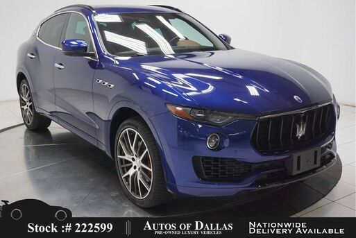 2017_Maserati_Levante_NAV,CAM,PANO,HTD STS,BLIND SPOT,21IN WHLS_ Plano TX