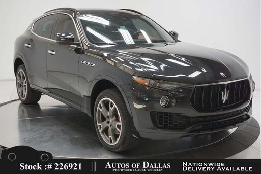 2017_Maserati_Levante_NAV,CAM,SUNROOF,HTD STS,PARK ASST,20IN WHLS_ Plano TX