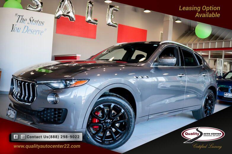 2017 Maserati Levante Navigation Sunroof 1 Owner Springfield NJ