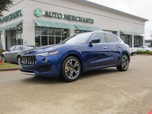 2017_Maserati_Levante_PANORAMIC, NAV, BACKUP CAM, POWER LIFTGATE, BLUETOOTH, HTD SEATS, PUSH BUTTON START, KEYLESS ENTRY_ Plano TX