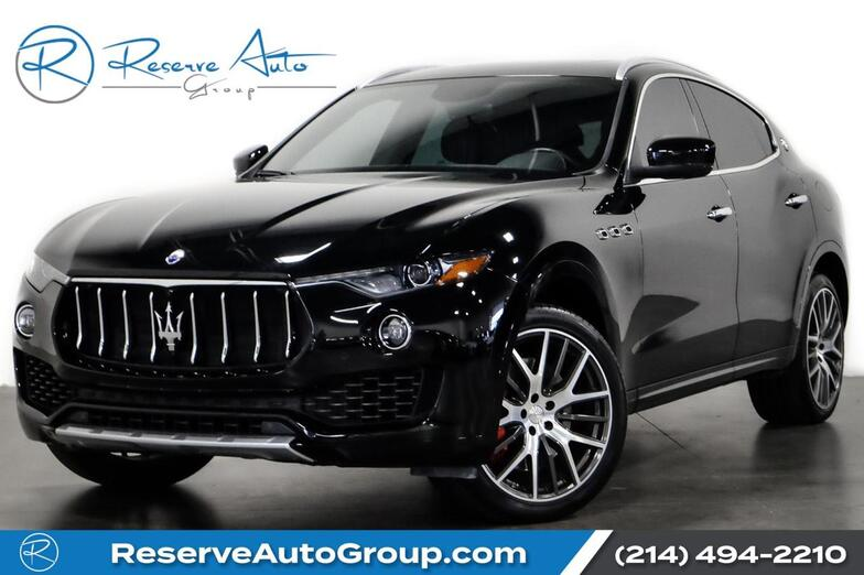 2017 Maserati Levante S Luxury Pkg HarmonKardon Sound CarbonFiber The Colony TX