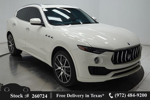 2017_Maserati_Levante_S NAV,CAM,PANO,HTD STS,BLIND SPOT,21IN WHLS_ Plano TX