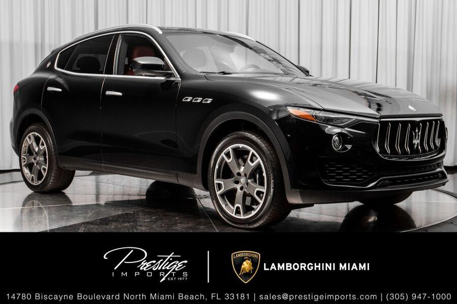 2017_Maserati_Levante_S_ North Miami Beach FL
