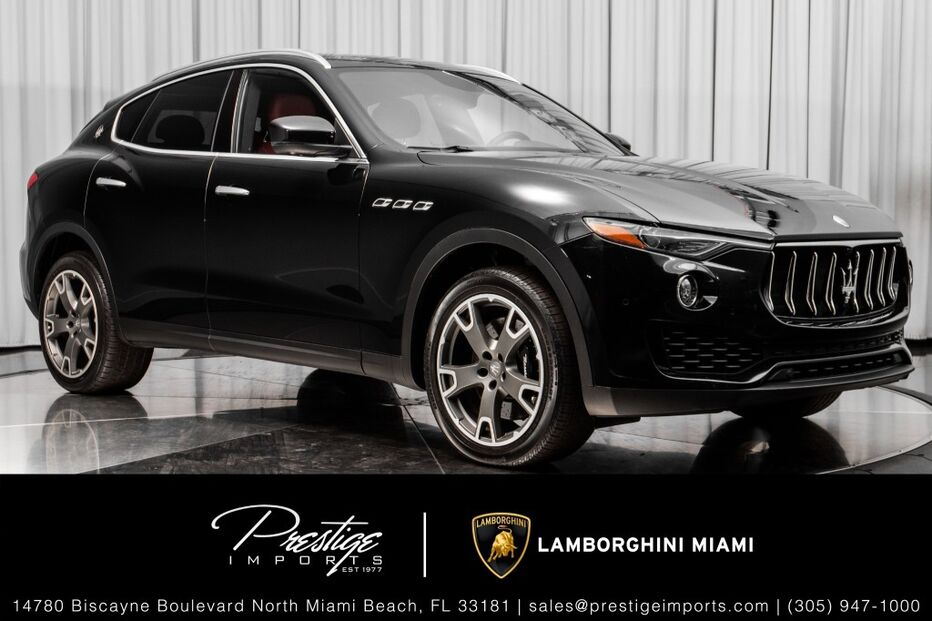 2017_Maserati_Levante_S_ North Miami Beach FL