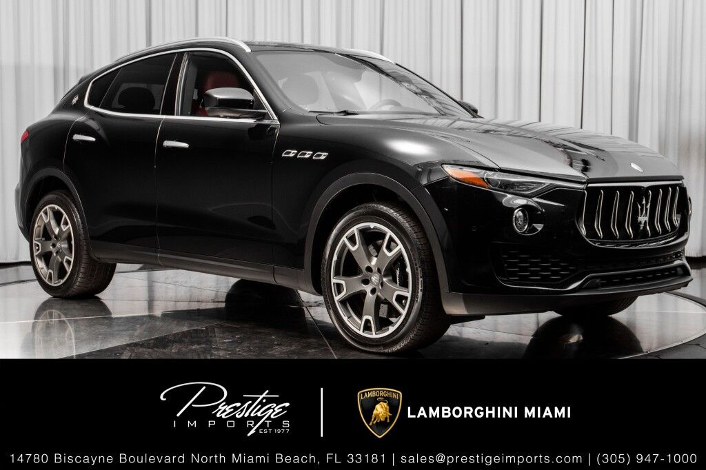 2017 Maserati Levante S North Miami Beach FL