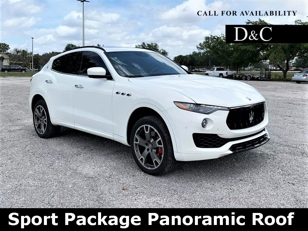 2017 Maserati Levante Sport Package Panoramic Roof Portland OR