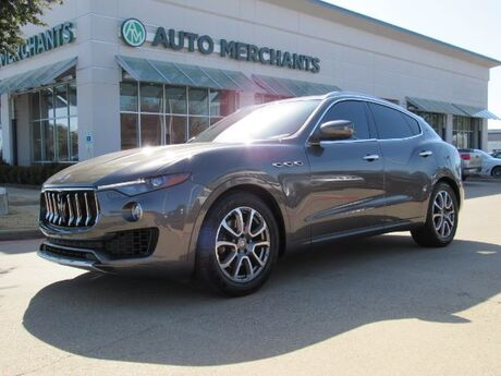 2017 Maserati Levante TURBO, LEATHER SEATS, NAVIGATION SYSTEM, SAT RADIO, REAR PARKING AID, PREMIUM STEREO Plano TX