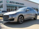 2017 Maserati Levante TURBO, LEATHER SEATS, NAVIGATION SYSTEM, SAT RADIO, REAR PARKING AID, PREMIUM STEREO