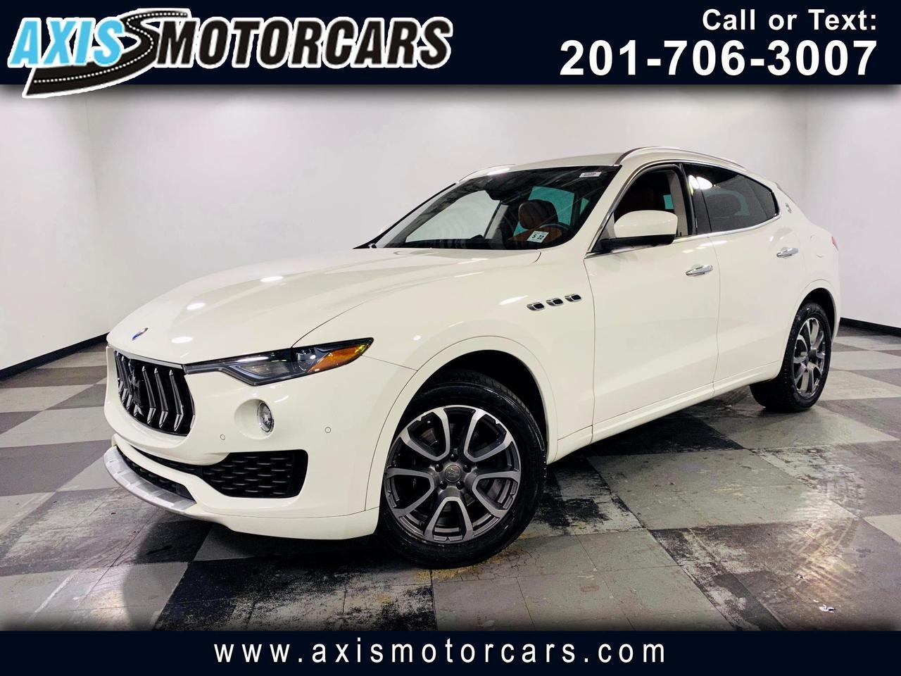 2017 Maserati Levante w/Harman Kardon Sound Backup Camera 360 Navigation Jersey City NJ