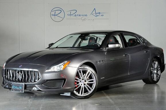 2017_Maserati_Quattroporte_S GranSport Driver Asst Pkg Natural Lthr 20 Urano Whls_ The Colony TX