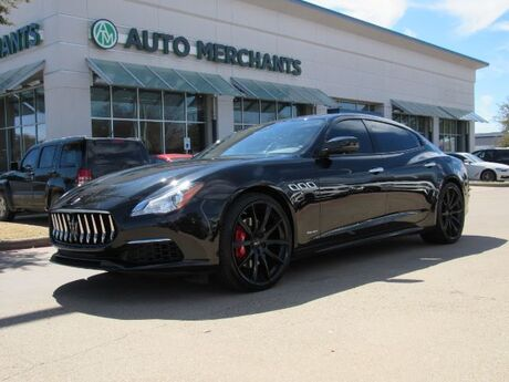 2017 Maserati Quattroporte S Q4 GranLusso SUNROOF, NAVIGATION, BLIND SPOT MONITOR, POWER TRUNK LID, PREMIUM SOUND SYSTEM Plano TX