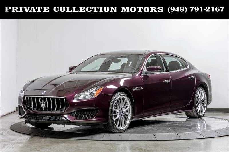 2017_Maserati_Quattroporte_S Q4 GranSport Highly Optioned_ Costa Mesa CA