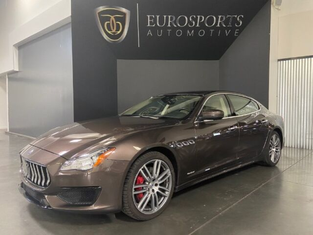 2017 Maserati Quattroporte S Q4 GranSport Salt Lake City UT