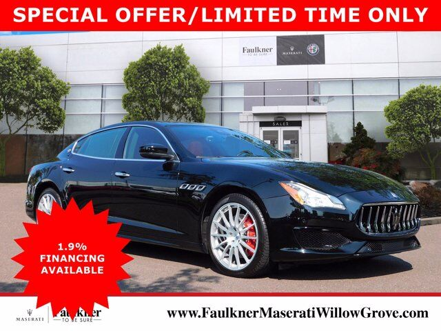 2017 Maserati Quattroporte S Q4 GranSport Willow Grove PA