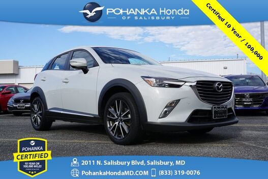 2017_Mazda_CX-3_Grand Touring ** Pohanka Certified 10 Year / 100,000  **_ Salisbury MD