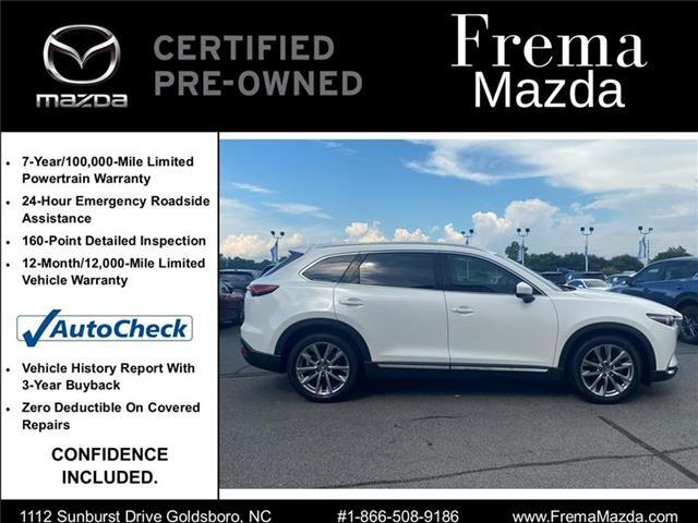 2017 Mazda CX-9 Grand Touring Front-wheel Drive Sport Utility Goldsboro NC