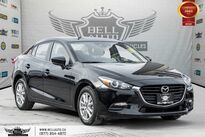 Mazda Mazda3 GS, NO ACCIDENT, REAR CAM, HEATED SEAT, BLUETOOTH 2017