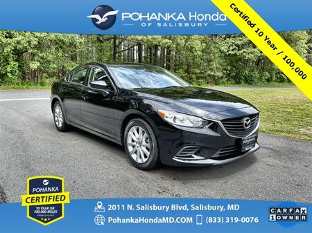 2017_Mazda_Mazda6_Sport ** Pohanka Certified 10 Year / 100,000  **_ Salisbury MD