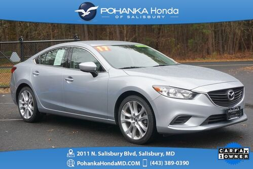 2017_Mazda_Mazda6_Touring PLUS ** LEATHER & BACK UP CAMERA ** ONE OWNER **_ Salisbury MD