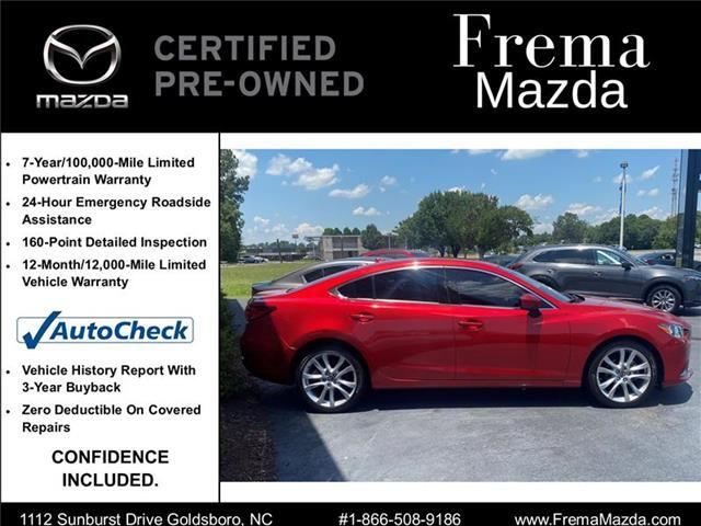 2017 Mazda Mazda6 Touring Sedan Goldsboro NC
