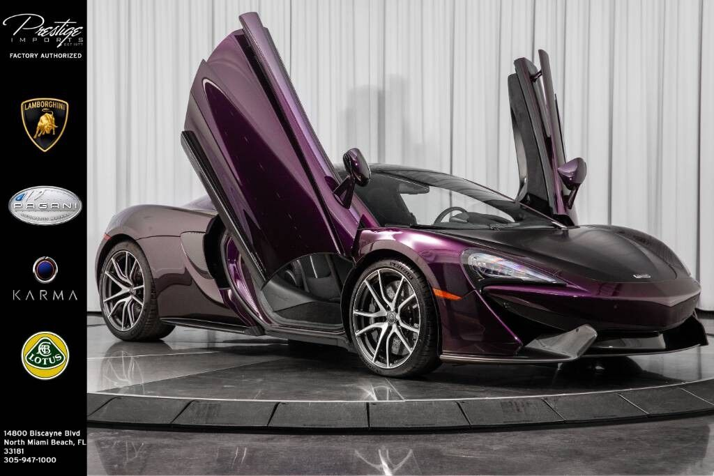 2017_McLaren_570GT__ North Miami Beach FL