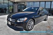 2017 Mercedes-Benz C 300 / AWD / Power & Heated Leather Seats / Navigation / Dual Sunroof / Bluetooth / Back Up Camera / Cruise Control / Only 34k Miles / 31 MPG