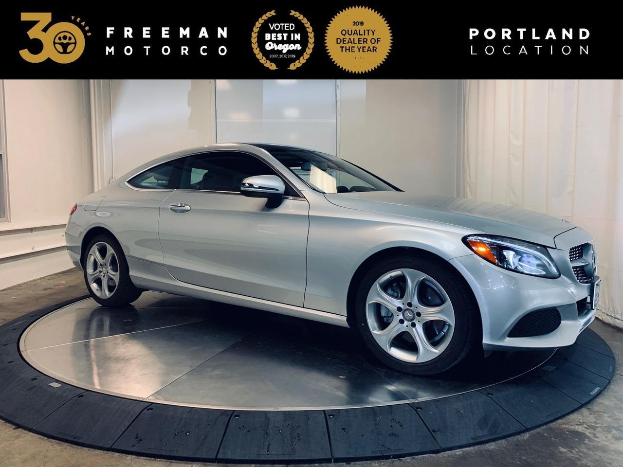 2017 Mercedes-Benz C 300 14K Miles Backup Cam Blind Spot Assist Portland OR