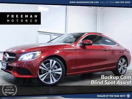 2017_Mercedes-Benz_C 300_19K Miles Backup Cam Blind Spot Assist_ Portland OR