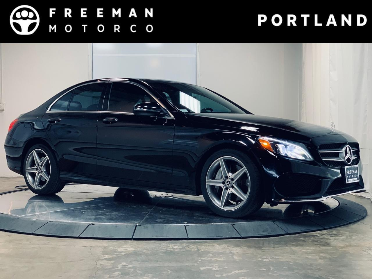 2017 Mercedes-Benz C 300 4MATIC AMG Sport Pkg Pano Htd Steering Wheel Portland OR