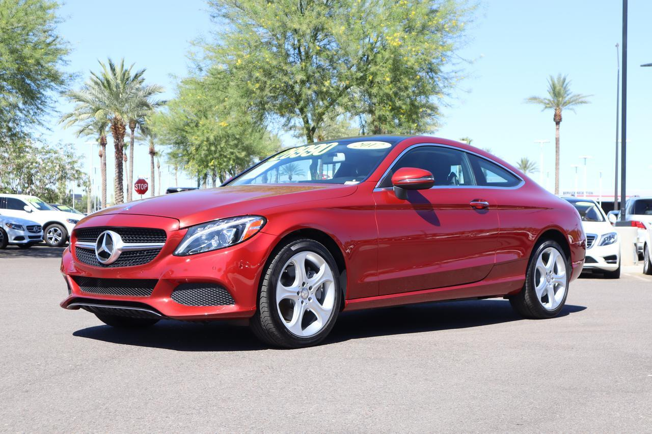 2017 Mercedes-Benz C 300 4MATIC® Coupe Gilbert AZ
