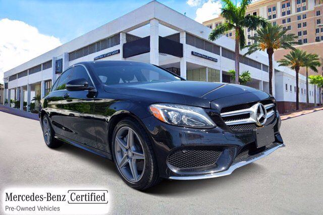 2017 Mercedes-Benz C 300 4MATIC® Sedan Coral Gables FL