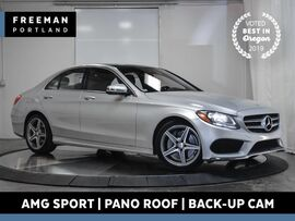 2017 Mercedes-Benz C 300 AMG Sport Panoramic Roof Back-Up Camera