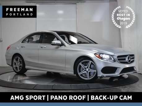 2017_Mercedes-Benz_C 300_AMG Sport Panoramic Roof Back-Up Camera_ Portland OR