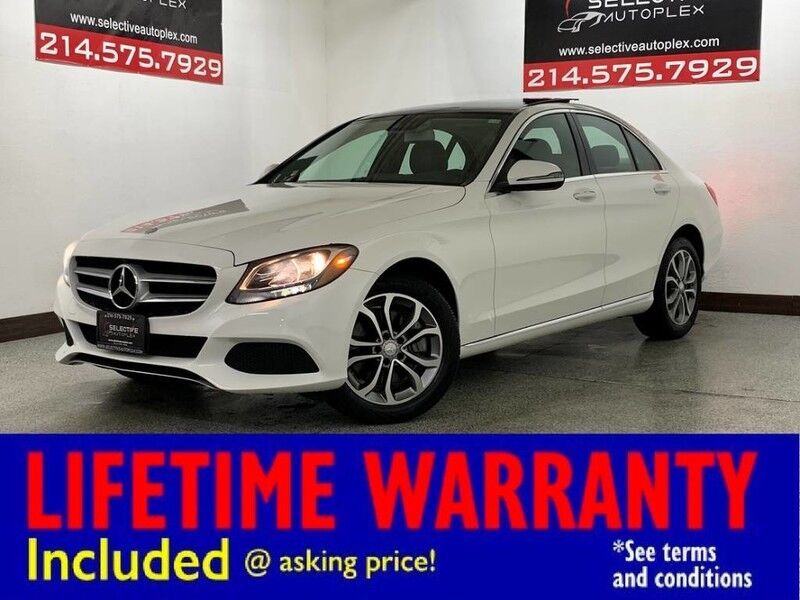 2017 Mercedes-Benz C 300 AWD, LEATHER SEATS, PANO ROOF, REAR VIEW CAM Carrollton TX