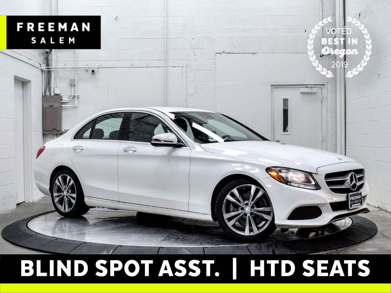 2017 Mercedes-Benz C 300 Blind Spot Assist Backup Cam Heated Seats Salem OR
