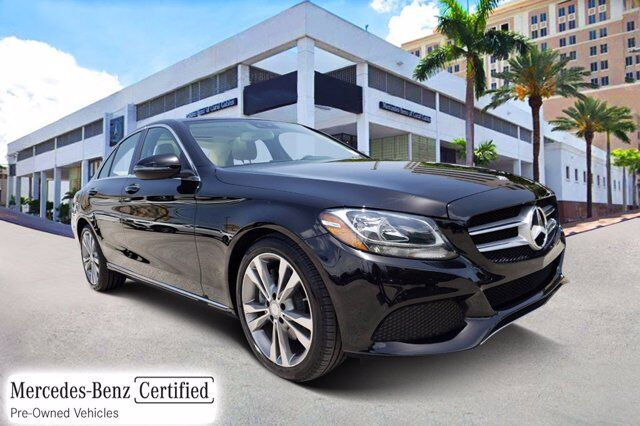 2017 Mercedes-Benz C 300 Sedan # Y6144 Coral Gables FL